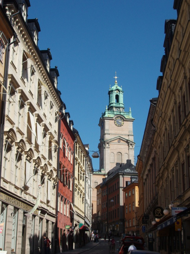 One street in Gamla Stan