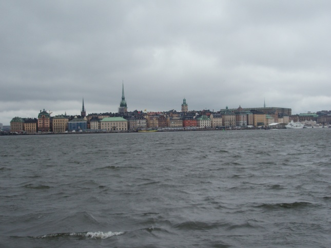 Gamla Stan in the storm