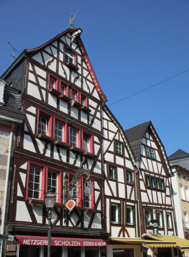 House with teapot in Ahrweiler