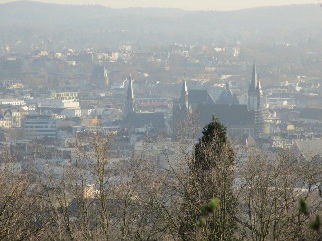 Aachen from the Lousberg