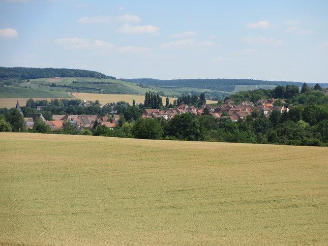 Le village de Condé en Brie