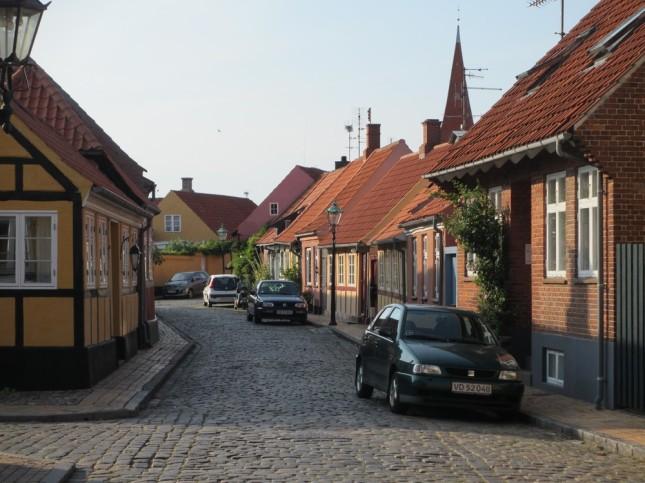 Une rue de Rønne