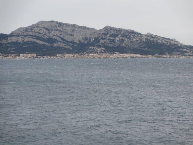 Marseilleveyre depuis la corniche