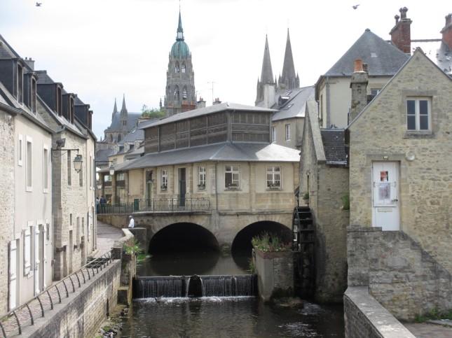 L'Aure à Bayeux