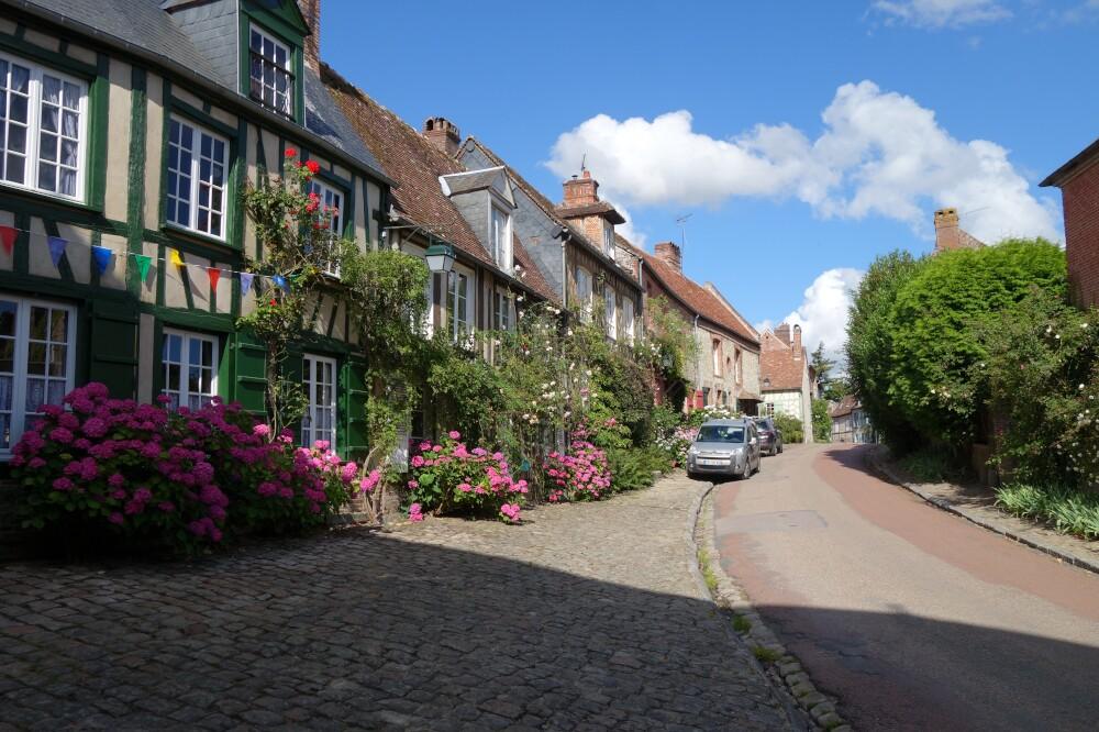 Rue principale de Gerberoy